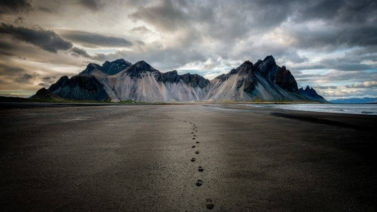 329438 nature landscape mountain clouds Iceland footprints beach sand sea coast snowy peak 748x421 - Baby Steps That Can Lead to Life Changes